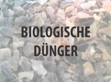 Biologische Dünger kaufen